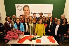 Comunali Bari 2019, Irma Melini inaugura il comitato: «Mia candidatura resta indipendente»