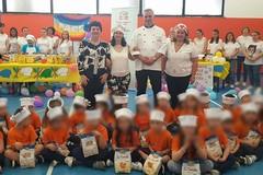 Bari, a scuola di bontà con la merenda solidale