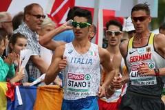Marcia, annullati i tempi di Schwazer. Il record italiano è di Massimo Stano da Palo del Colle