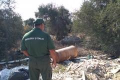 Bari, continua l'abbandono selvaggio di rifiuti