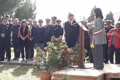 L'assessore Paola Romano per la Festa dell'Albero