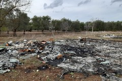 Amianto e altri rifiuti pericolosi tra gli ulivi, scoperta discarica a Ceglie del Campo