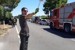 Bari, scontro sulla Putignano-Alberobello, ferite due donne