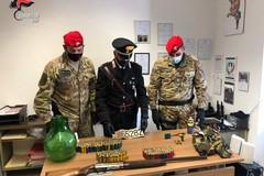 Armi illegali, cani senza microchip e abusi edilizi, arrestato proprietario di una masseria a Castellana (Bari)