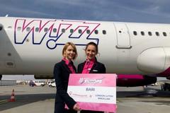 Bari e la Romania più vicine con WizzAir, da agosto si vola a Iasi