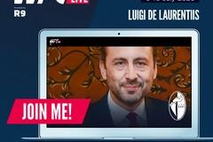 Il Bari insieme al Real Madrid, De Laurentiis al convegno sul calcio in tempo di crisi