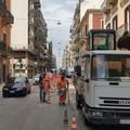 Bari, nuovo asfalto in via Quintino Sella: partito il cantiere. Pronto a Pasqua