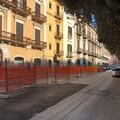 Nuovo marciapiede in piazza Massari, partito il cantiere. Lavori conclusi a maggio