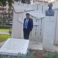 Ripristinata la lapide in memoria di Aldo Moro divelta dai vandali