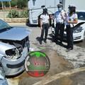 Scontro fra auto sulla Castellana-Turi, tre feriti