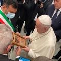 """Bari, il sindaco Decaro incontra Papa Francesco:  """"Emozione fortissima """""""