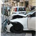 Bari, si schianta contro un palo in via Re David dopo l'inseguimento. Arrestato