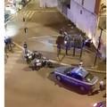 San Paolo, la volante della polizia finisce contro un muro