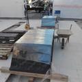 Cantiere via Sparano, installate le prime panchine nel Salotto della Moda