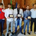 Il Club Scherma Bari trionfa ai Campionati Italiani. Premiati gli atleti a Palazzo di Città