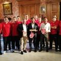 Pallanuoto, Torneo Internazionale di Bari. A Palazzo di Città il benvenuto alla nazionale svizzera