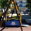 Una nuova altalena per disabili in dono al Municipio I