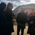C.A.R.A. e C.P.R. di Bari-Palese, visita di Dario Ginefra