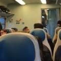 Piove nel treno Barletta-Bari, la video denuncia