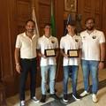 Sport Project Bari eccellenza del nuoto. Premiati gli atleti Luca e Marco de Tullio a Palazzo di Città