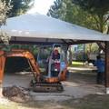 Bari, nuovo gazebo e due aree per cani nel giardino di Santa Rita. Partiti i lavori