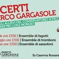 Tre concerti al parco Gargasole, oggi pomeriggio il primo appuntamento