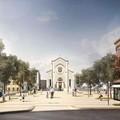 Quartiere Libertà, come sarà la nuova piazza del Redentore
