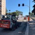 Viale Einaudi si rinnova, partiti i lavori per 12mila metri quadri di nuovo asfalto