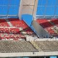 Stadio San Nicola di Bari, arrivano i primi seggiolini rossi in tribuna est