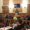 Cassa Prestanza, in Aula Dalfino va in scena la protesta dei dipendenti comunali