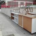 Poggiofranco, rifiuti ingombranti abbandonati sul marciapiede