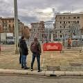 Bari, in largo Giannella un albero di Natale di 26 metri donato da Fondazione Megamark