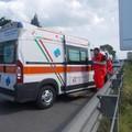 Bari maxi tamponamento sul Lungomare Sud, traffico in tilt