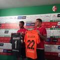 FC Bari, si presentano Berardi e De Lucia: «La società ha creduto in noi»