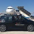 Aeroporti di Puglia e Maldarizzi insieme per l'ambiente, mezzi elettrici nel piazzale dello scalo
