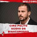 SSC Bari, è ufficiale. Ciro Polito è il nuovo Direttore Sportivo