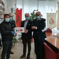 Coronavirus, un cittadino italo-cinese dona mascherine alla polizia locale di Bari