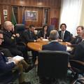 Il ministro Toninelli a Bari, visita alla Capitaneria di porto e allo scalo ferroviario