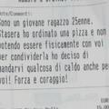 Bari, ordina una pizza e la fa consegnare ai senzatetto della stazione