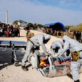 """A Bari l'esercito simula una guerra e lo Tsunami con  """"Atlante-Auriga 2019 """""""