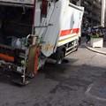 Voragine in via Melo, strada transennata e Aqp al lavoro
