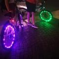 Bari in bici Illuminata sotto le stelle