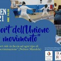 """Lo  sport dell'unione in movimento"", appuntamento online"