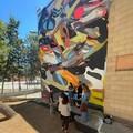 Bari, la scuola si colora di arte, con due opere di Giorgio Bartocci