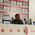 Bari-Reggina 1-1, Cornacchini: «Contento del secondo tempo». Sabbione: «Pari che ci dà fiducia»