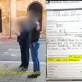 «Mi sono distratta e non ho raccolto», e gli agenti in borghese la multano