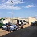 Un opificio abbandonato a Casamassima come magazzino di mezzi rubati