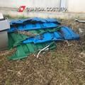 Discarica abusiva di rifiuti speciali a Monopoli, scatta il sequestro dell'area