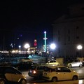 La torre panoramica colorata di bianco e verde per la giornata sulla SLA