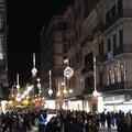Luci e musica riscaldano via Sparano